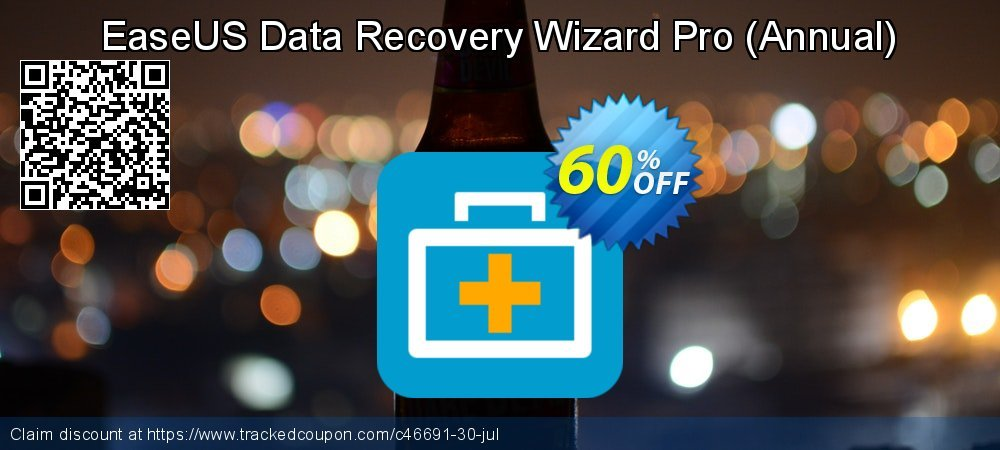 EaseUS Data Recovery Wizard Pro - Annual  coupon on Natl. Doctors' Day discount