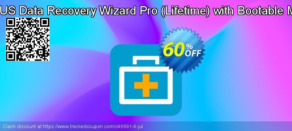 Claim 40% OFF EaseUS Data Recovery Wizard Pro - Lifetime with Bootable Media Coupon discount October, 2020