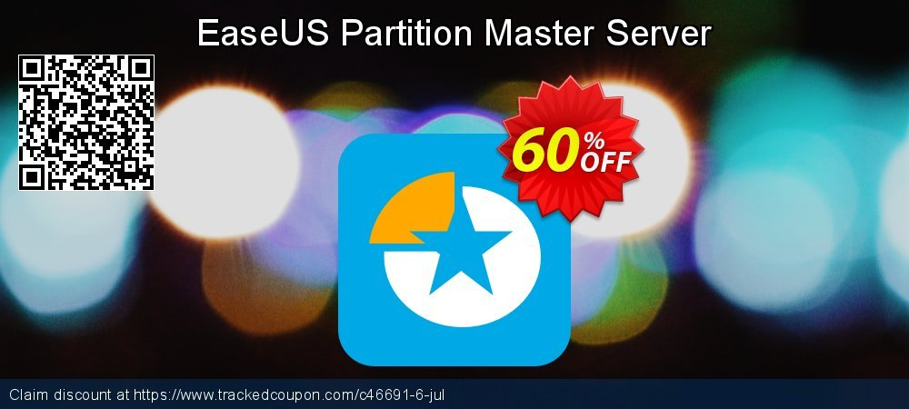 EaseUS Partition Master Server coupon on  Lover's Day offering sales