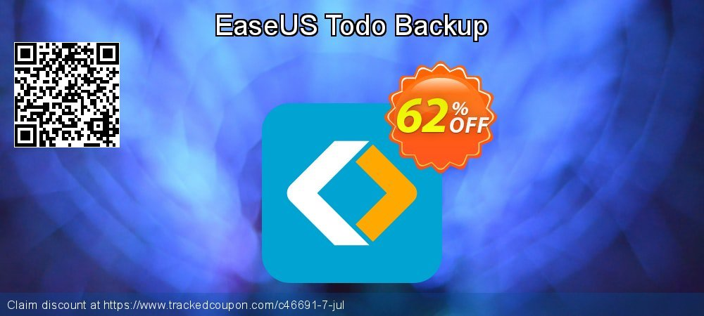 EaseUS Todo Backup coupon on Int'l. Women's Day discounts