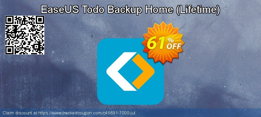 EaseUS Todo Backup Home - Lifetime  coupon on Int'l. Women's Day discounts