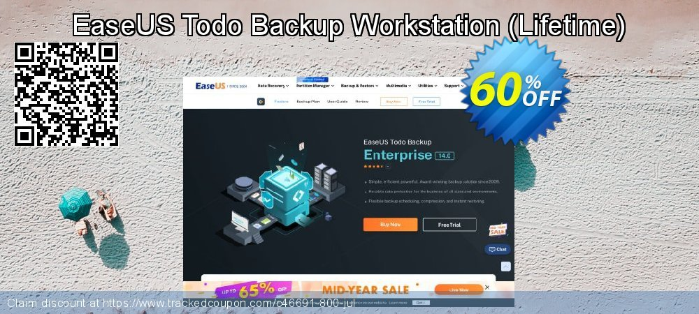 EaseUS Todo Backup Workstation - Lifetime  coupon on Read Across America Day promotions