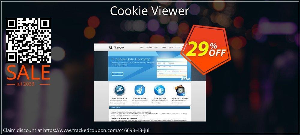 Get 25% OFF Cookie Viewer sales