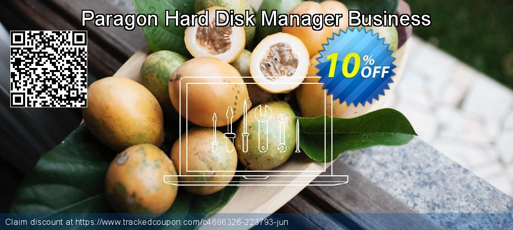 Paragon Hard Disk Manager Business coupon on Mothers Day deals