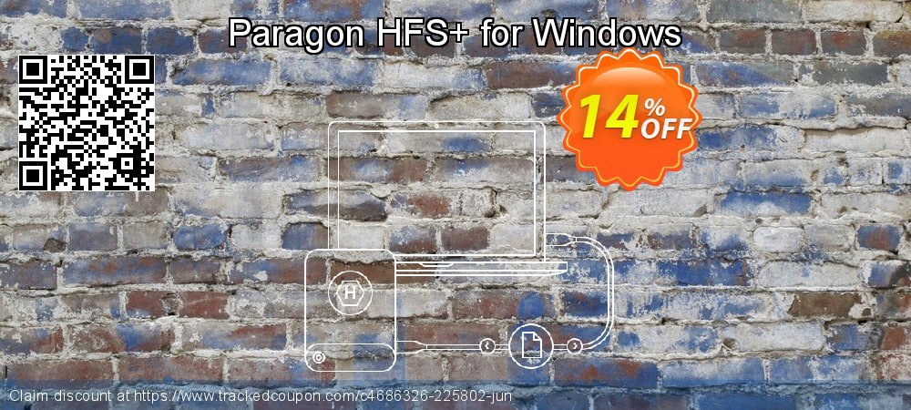 Paragon HFS+ for Windows coupon on Mom Day discount