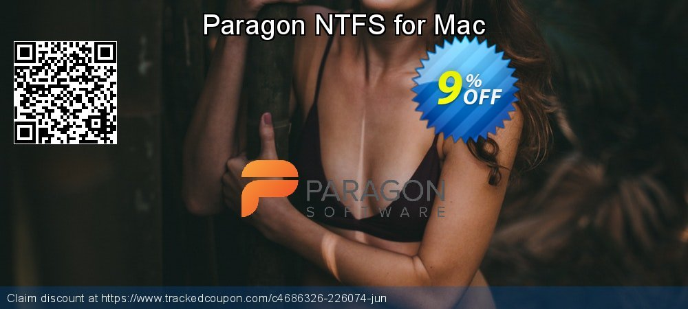Paragon NTFS for Mac coupon on Mom Day offering sales
