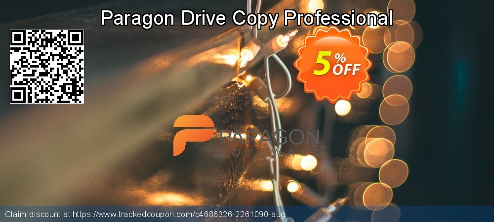 Paragon Drive Copy Professional coupon on Mom Day offering discount