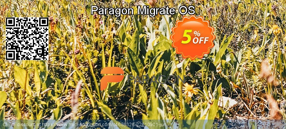 Paragon Migrate OS coupon on Mothers Day offering sales