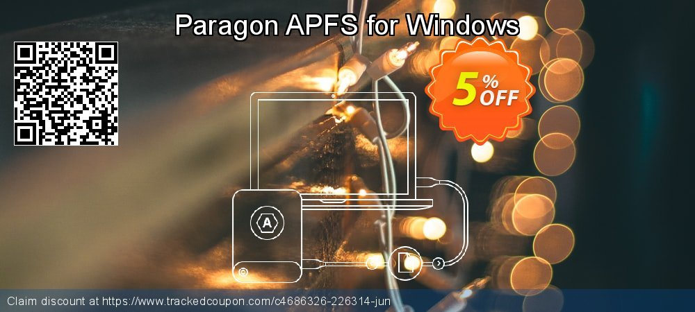 Paragon APFS for Windows coupon on Mom Day offer