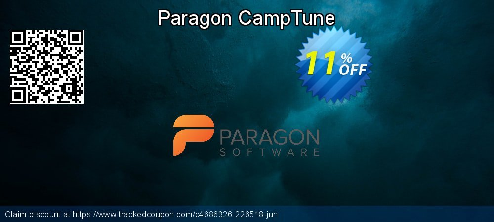 Paragon CampTune coupon on Mom Day promotions