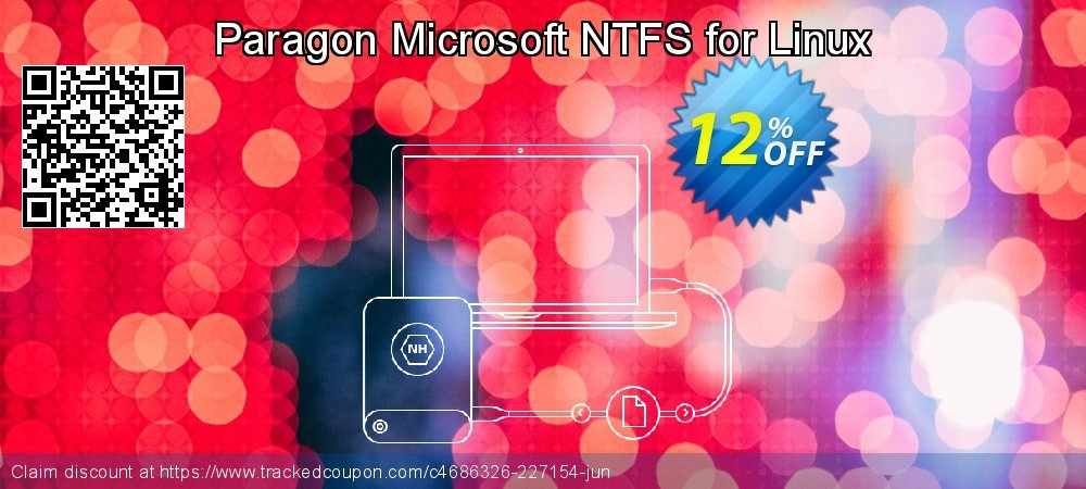 Paragon Microsoft NTFS for Linux coupon on Mom Day offering sales