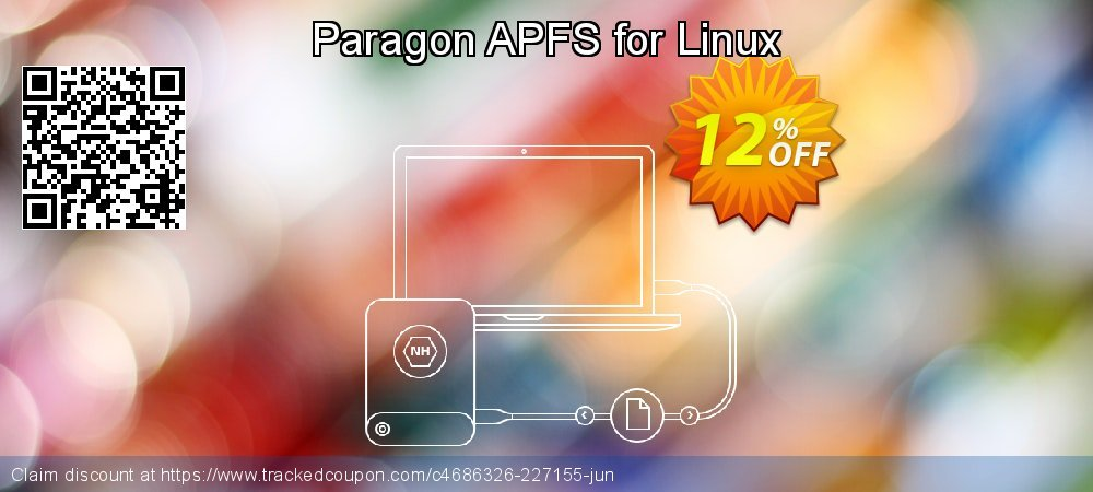 Paragon APFS for Linux coupon on Mothers Day super sale