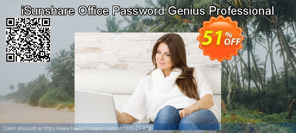 Get 50% OFF iSunshare Office Password Genius Professional promotions