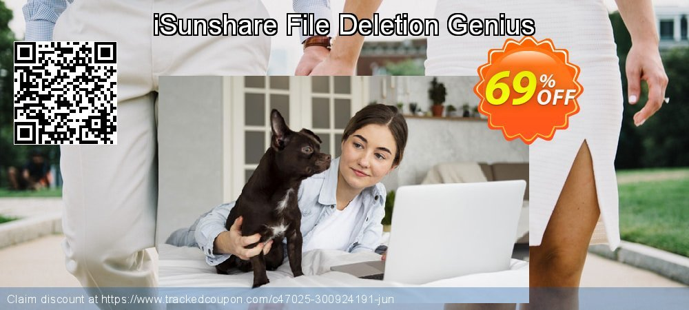 Get 67% OFF iSunshare File Deletion Genius offering sales