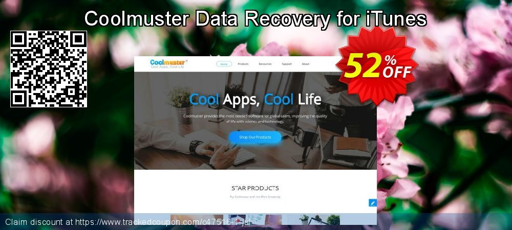 Claim 50% OFF Coolmuster Data Recovery for iTunes Coupon discount May, 2019