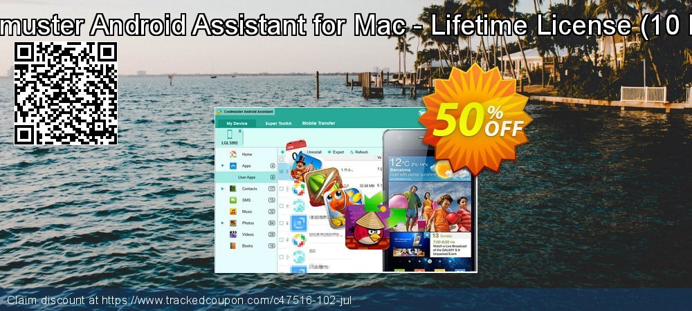Coolmuster Android Assistant for Mac - Lifetime License - 10 PCs  coupon on Easter deals
