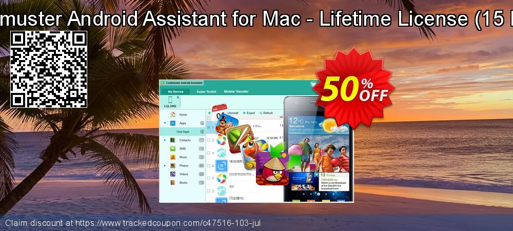 Coolmuster Android Assistant for Mac - Lifetime License - 15 PCs  coupon on Halloween promotions