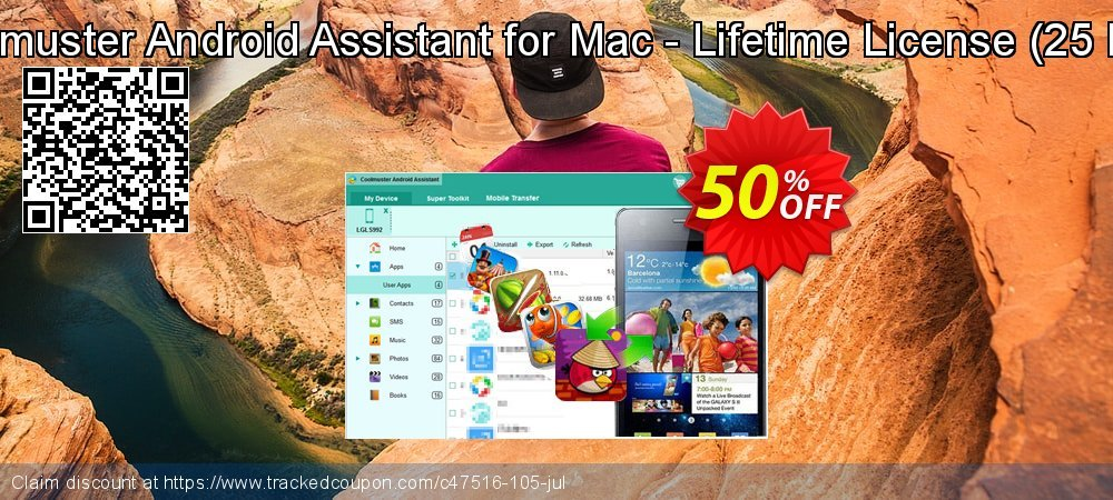 Coolmuster Android Assistant for Mac - Lifetime License - 25 PCs  coupon on Easter Sunday offering discount