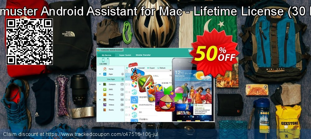 Coolmuster Android Assistant for Mac - Lifetime License - 30 PCs  coupon on Easter offering sales