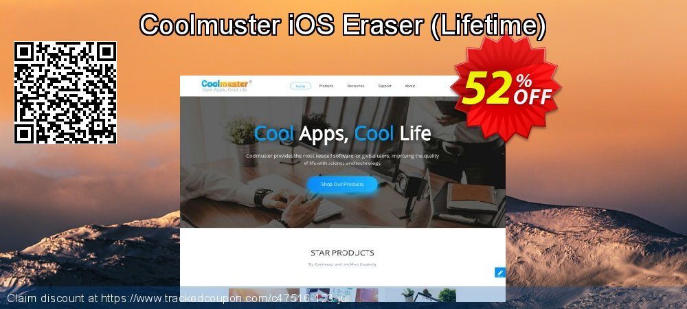 Coolmuster iOS Eraser (Lifetime) coupon on Father's Day super sale