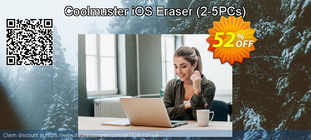 Coolmuster iOS Eraser (2-5PCs) coupon on Read Across America Day offer