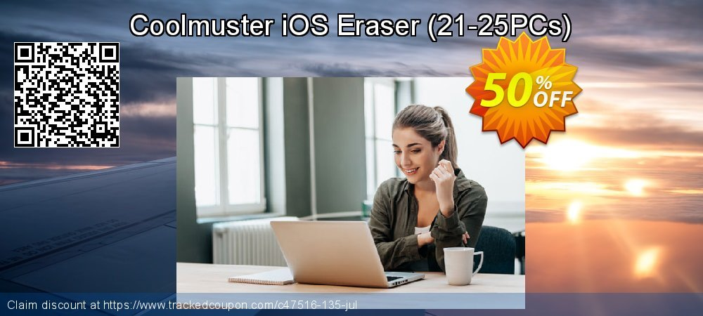 Coolmuster iOS Eraser (21-25PCs) coupon on Happy New Year discount