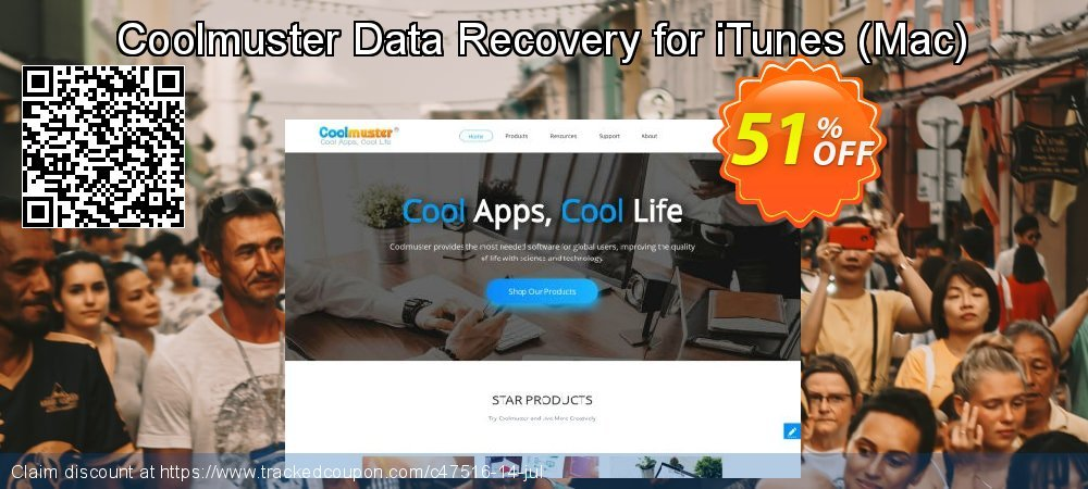 Claim 51% OFF Coolmuster Data Recovery for iTunes - Mac Coupon discount June, 2020