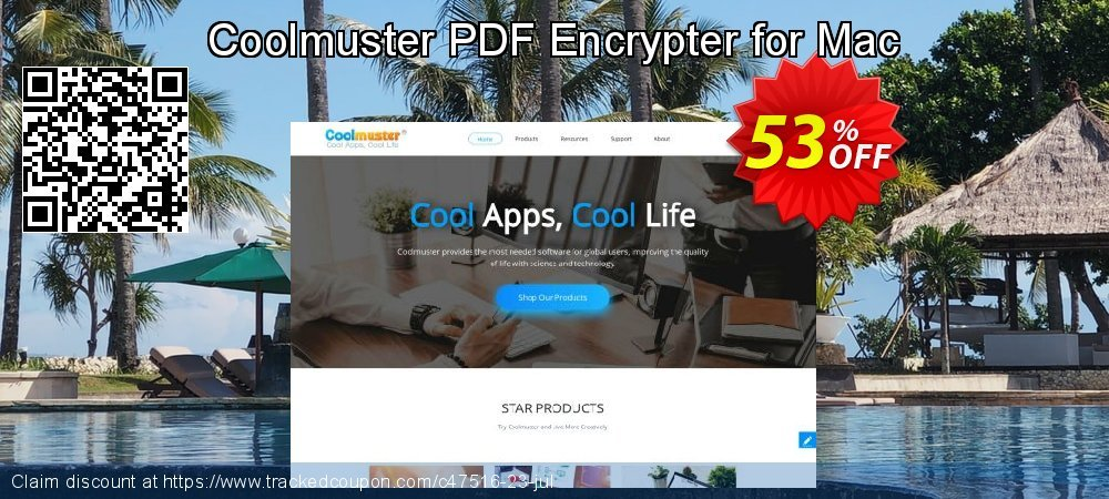 Coolmuster PDF Encrypter for Mac coupon on Valentine Week discount