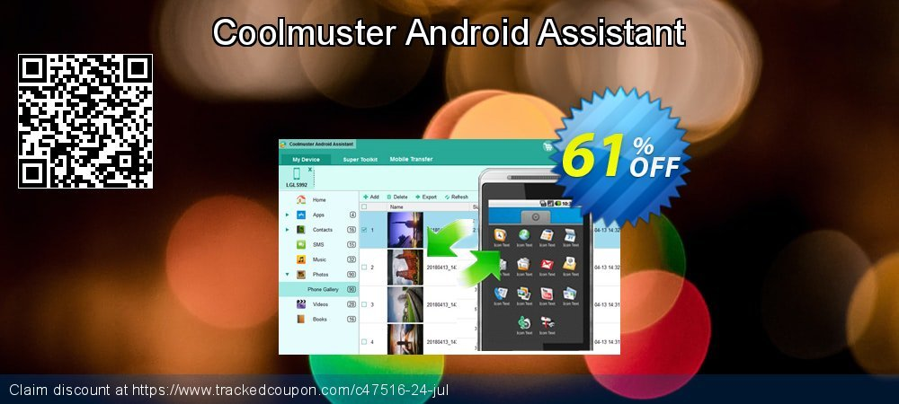 Get 61% OFF Coolmuster Android Assistant sales