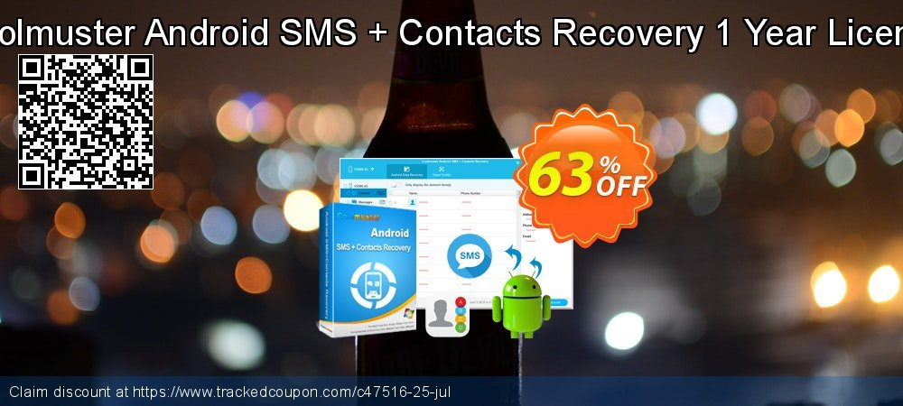 Coolmuster Android SMS + Contacts Recovery coupon on Halloween offer