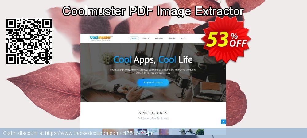 Get 50% OFF Coolmuster PDF Image Extractor sales