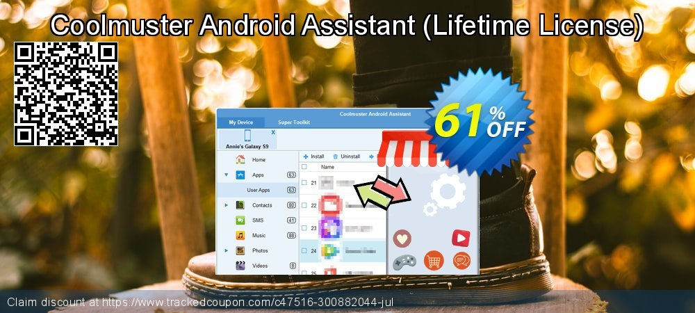 Coolmuster Android Assistant - Lifetime License  coupon on New Year super sale