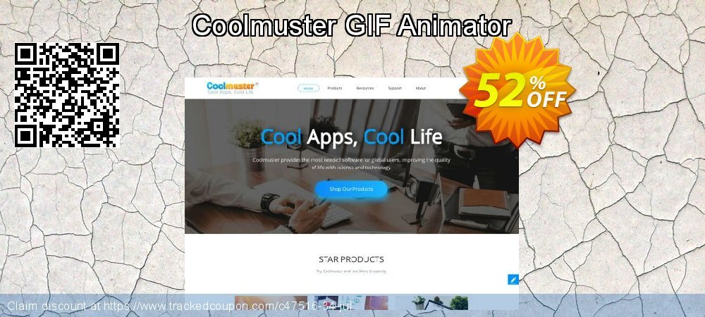 Get 50% OFF Coolmuster GIF Animator offering deals
