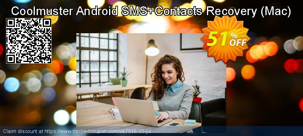 Claim 51% OFF Coolmuster Android SMS+Contacts Recovery - Mac Coupon discount September, 2020
