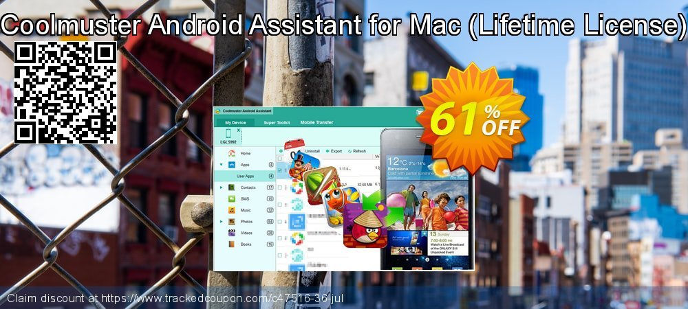 Coolmuster Android Assistant for Mac - Lifetime coupon on May Day promotions