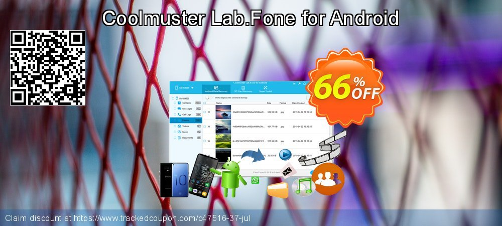 Coolmuster Lab.Fone for Android coupon on New Year's Day offering sales
