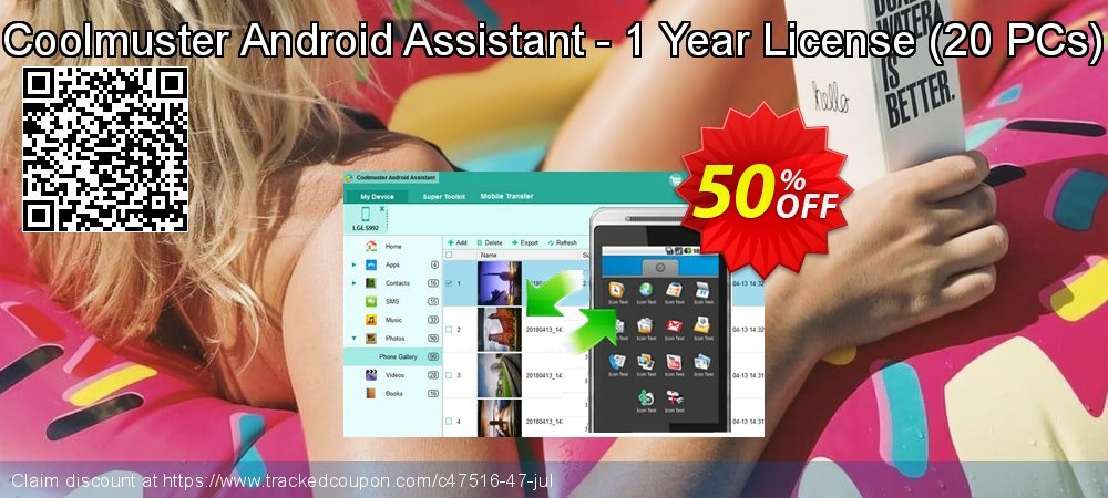 Coolmuster Android Assistant - 1 Year License - 20 PCs  coupon on Lunar New Year super sale
