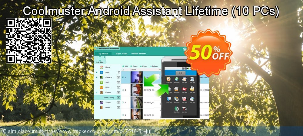 Coolmuster Android Assistant Lifetime - 10 PCs  coupon on Halloween deals