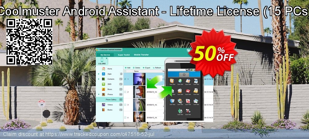 Coolmuster Android Assistant - Lifetime License - 15 PCs  coupon on Halloween offer