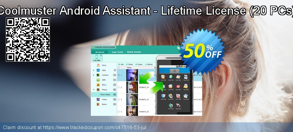 Coolmuster Android Assistant - Lifetime License - 20 PCs  coupon on Halloween discount