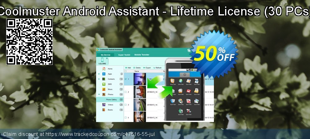 Coolmuster Android Assistant - Lifetime License - 30 PCs  coupon on Spring promotions