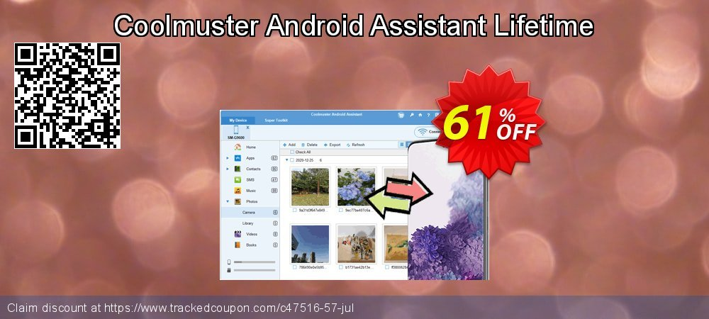 Coolmuster Android Assistant Lifetime coupon on New Year's Day discounts