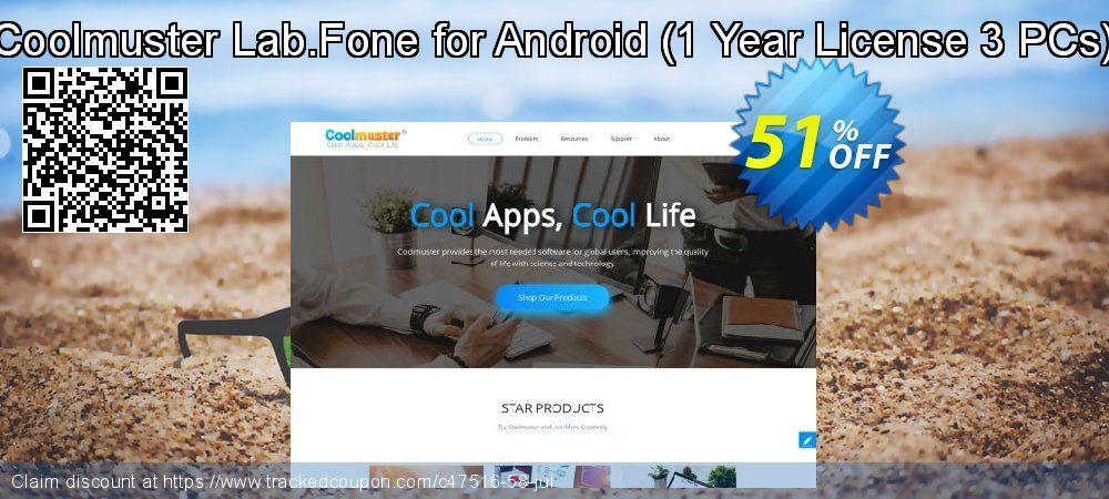 Claim 51% OFF Coolmuster Lab.Fone for Android - 1 Year License 3 PCs Coupon discount June, 2021