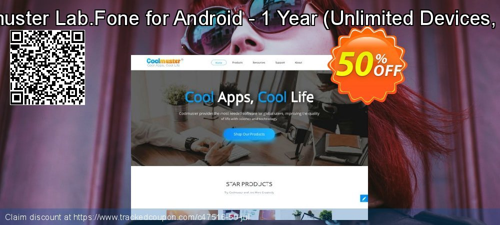 Coolmuster Lab.Fone for Android - 1 Year - Unlimited Devices, 1 PC  coupon on Nude Day super sale
