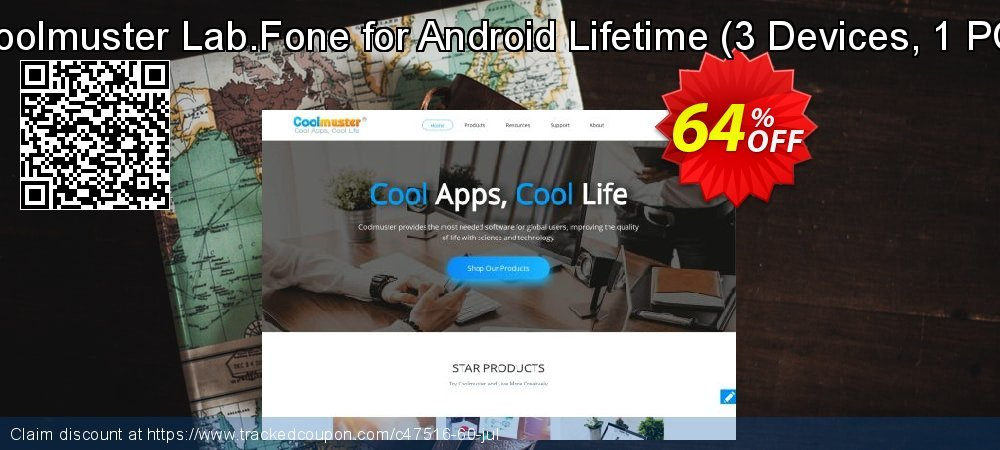 Coolmuster Lab.Fone for Android Lifetime - 3 Devices, 1 PC  coupon on Halloween deals