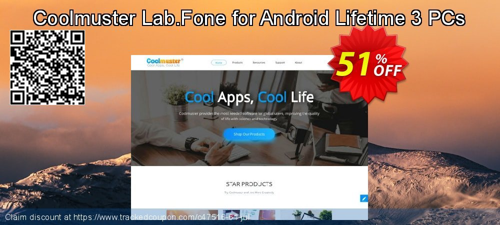 Claim 51% OFF Coolmuster Lab.Fone for Android Lifetime 3 PCs Coupon discount June, 2021