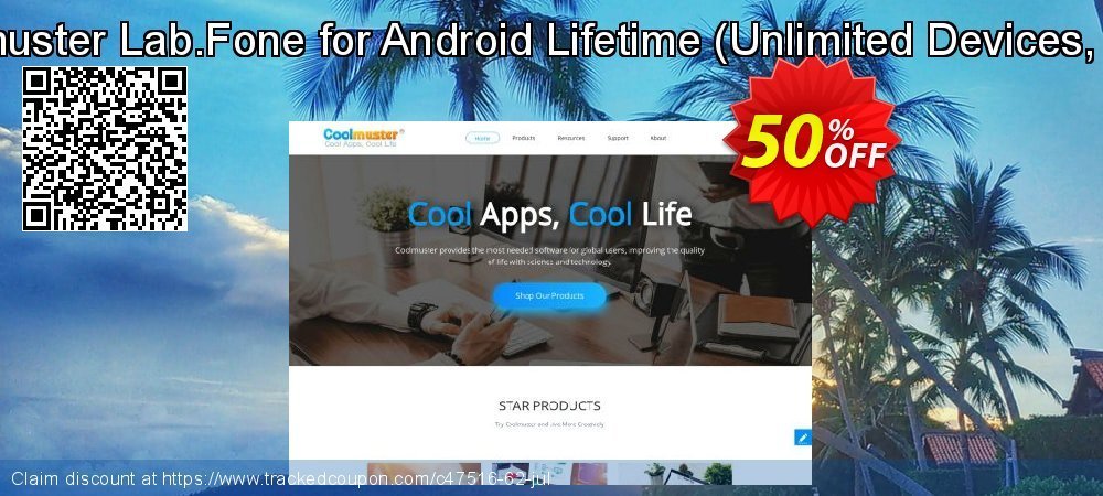 Coolmuster Lab.Fone for Android Lifetime - Unlimited Devices, 1 PC  coupon on Happy New Year discount