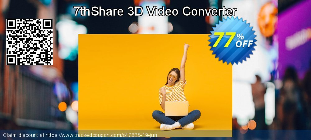 7thShare 3D Video Converter coupon on April Fool's Day offering discount