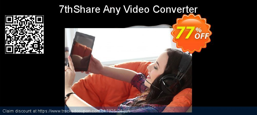 7thShare Any Video Converter coupon on May Day promotions