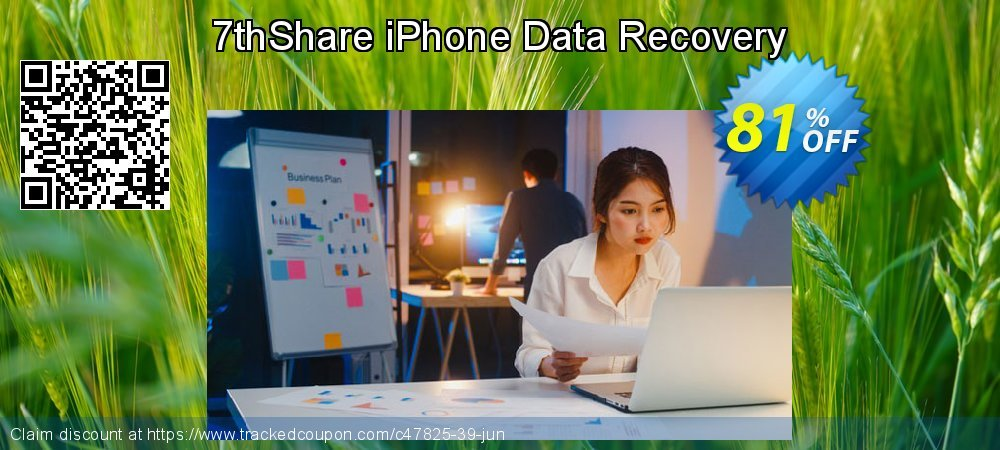 Claim 50% OFF 7thShare iPhone Data Recovery Coupon discount April, 2019